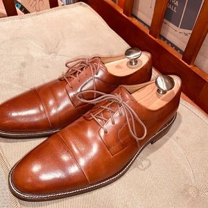 Cole Haan Cap Toe Derby Shoe.